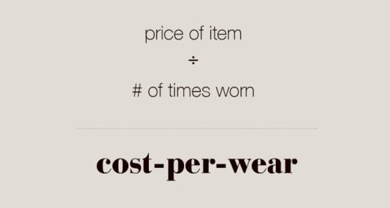 price per wear